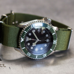 Green Fin SKX Enhanced with Ceramic, & Sapphire